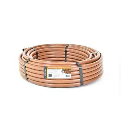 1/2 in. (0.600 in. I.D. x 0.700 in. O.D.) x 100 ft. Brown Drip Irrigation Poly Tubing