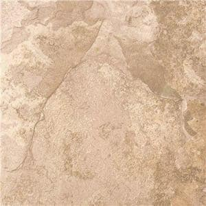 Mojave Slate Self-Adhesive Tile, Gray and Tan, 12 in. x 12 in., 0.08 Gauge (2 mm), (36 sq. ft. / case)