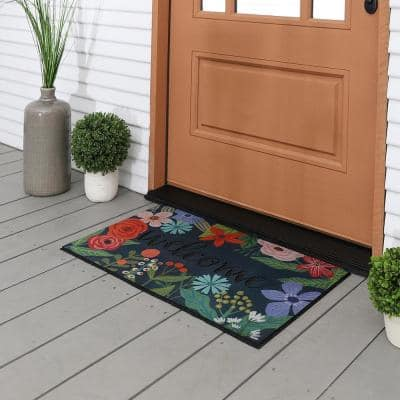 Spring Sunset Welcome 18 in. x 30 in. Doorscapes Mat