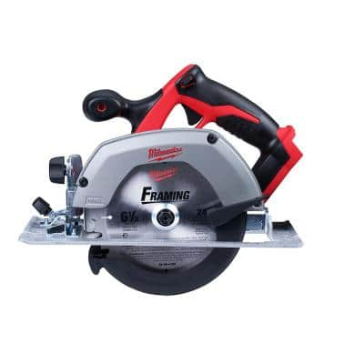 M18 18-Volt Lithium-Ion Cordless 6-1/2 in. Circular Saw (Tool-Only)