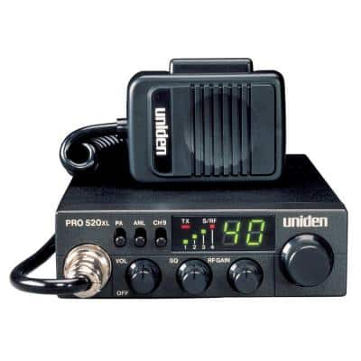 Compact 40-Channel CB 7-Watt Audio Output LED Display