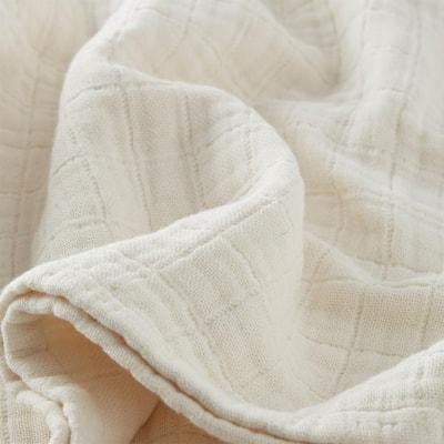 Gossamer Cotton Woven Blanket