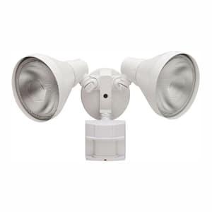 180 Degree White Motion-Sensing Outdoor Security-Light