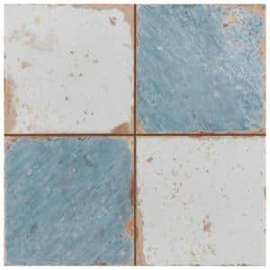 Artisan Damero Azul 13 in. x 13 in. Ceramic Floor and Wall Tile (20 Cases/244 sq. ft./Pallet)