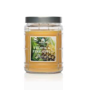18 oz. Tropical Pineapple Scented Candle Jar