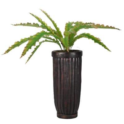 54.5 in.H Real Touch Agave in Fiberstone Planter