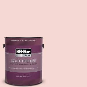 Behr Ultra 1 Gal P150 1 Blowing Kisses Extra Durable Eggshell Enamel Interior Paint Primer 275001 The Home Depot