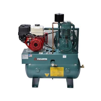 30 Gal. 13 HP Horizontal Gas Air Compressor