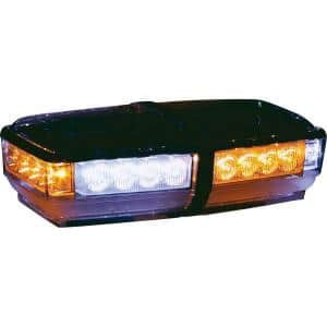 Amber/Clear LED Rectangular Mini Light Bar