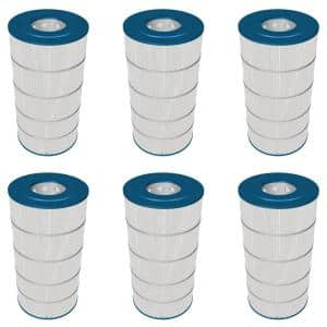 Hayward Four 150 Sq Ft 9 In Dia Replacement Swimming Pool Filter Cartridges 4 Pack 4 X Ccx1500re The Home Depot