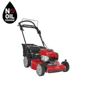 Recycler 22 in. Briggs & Stratton Personal Pace Electric Start, RWD Self Propelled Gas Walk-Behind Mower with Bagger