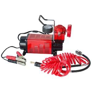 12-Volt 150 PSI Portable Air Compressor/Inflator/Pump