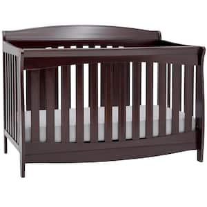 Colton Dark Chocolate 6-in-1 Convertible Crib