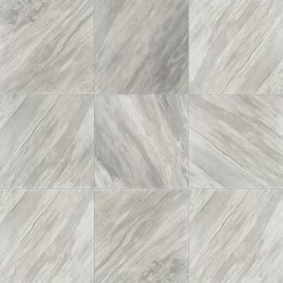 Eden Bardiglio 24 in. x 24 in. Polished Porcelain Floor and Wall Tile (15.5 sq. ft./Case)