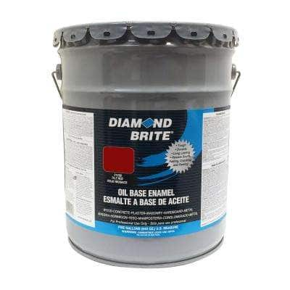 5 gal. Tile Red Oil Base Enamel Interior/Exterior Paint