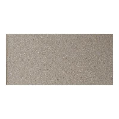 Quarry Tile Ashen Gray 4 in. x 8 in. Ceramic Floor and Wall Tile (10.76 sq. ft. / case)