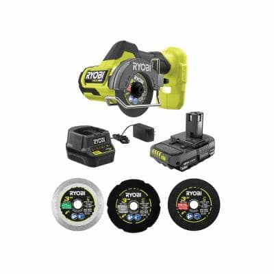 ONE+ HP 18V Brushless Cordless Compact Cut-Off Tool Kit with 1.5 Ah Battery and 18V Charger