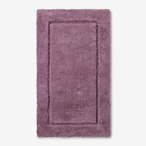 Legends Purple Sage 40 in. x 24 in. Cotton Bath Rug