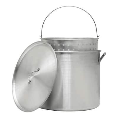 30 Qt. Pot with Strainer Basket
