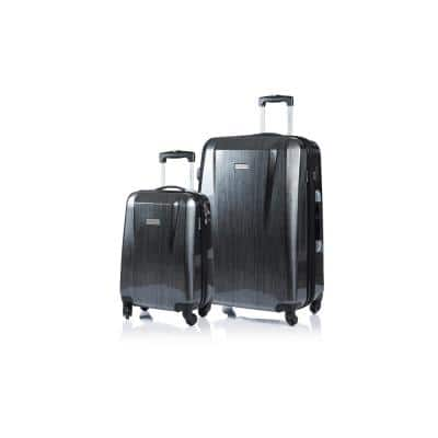 CHAMPS Escape 28 in., 20 in. Grey Hardside Luggage Set with Spinner Wheels (2-Piece)