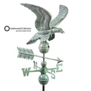 Smithsonian Eagle Weathervane - Blue Verde Copper