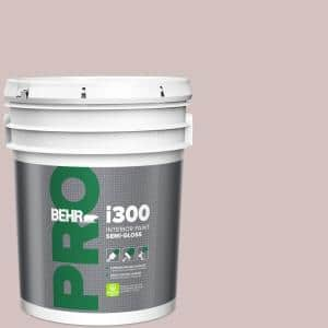 Behr Pro 5 Gal 120e 2 French Taupe Semi Gloss Interior Paint Pr37005 The Home Depot