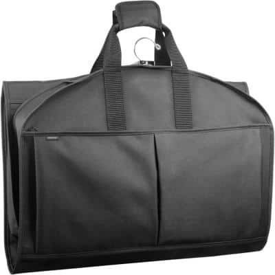 GarmenTote in Black with Pockets Carry-On Garment Bag
