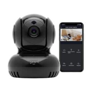 Sentinel 1080p HD Indoor Tilt Wi-Fi Standard Surveillance Camera with Voice Control and Motion Alerts No Hub Required