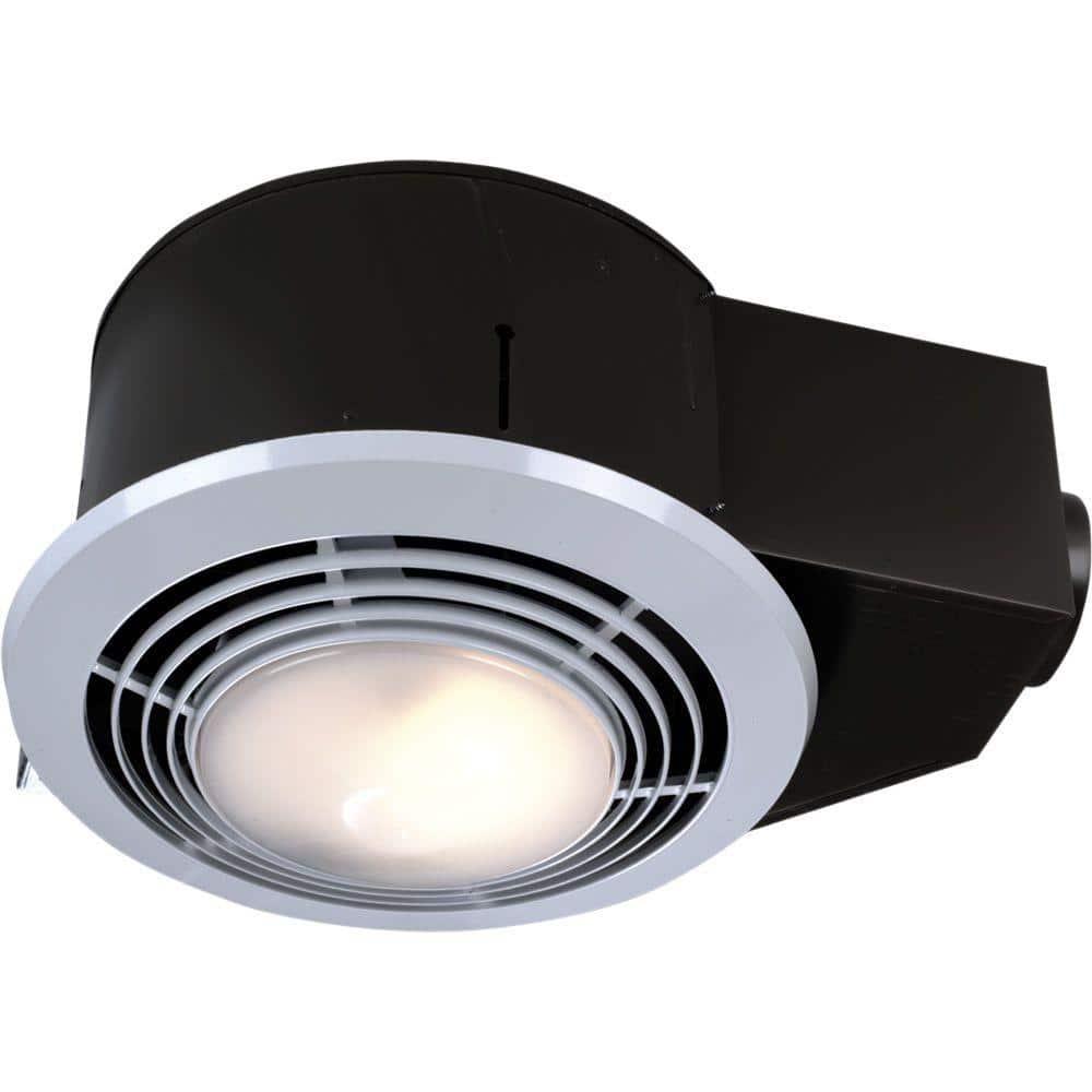 Broan Nutone 110 Cfm Ceiling Bathroom, Bathroom Exhaust Fan Heater Combination
