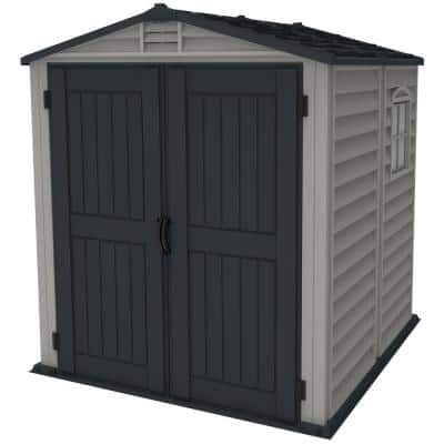 Store Mate Plus 6 ft. x 6 ft. Vinyl Shed with Floor