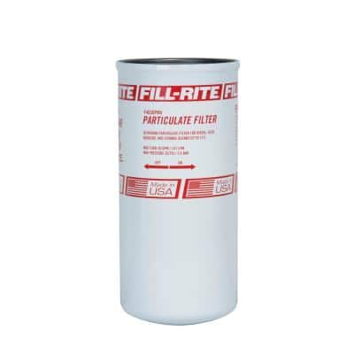 1 1/2 in. 40 GPM 30 Micron Particulate Spin-On Fuel Filter