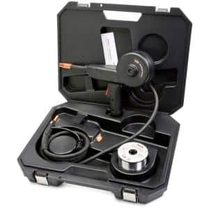 Magnum 100SG Welding Spool Gun for Soft Aluminum Wire, Including 10 ft. Gun Cable, Control Harness, Connector and Case