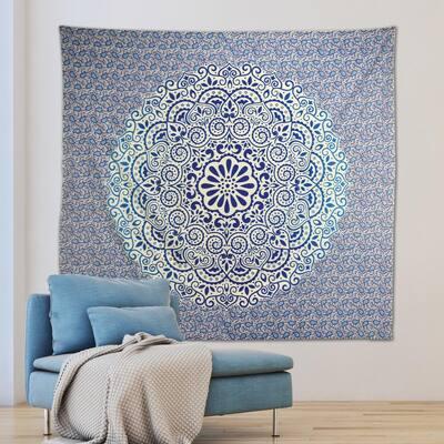 Zahra Purple Wall Tapestry
