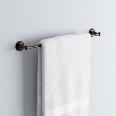 Porter 24 in. Towel Bar in Oil Rubbed Bronze