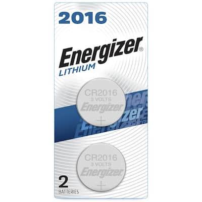 2016 Batteries (2 Pack), 3V Lithium Coin Batteries