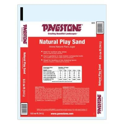 0.5 cu. ft. All Purpose Play Sand (64 Bags/32 cu. ft./Pallet)