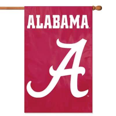Alabama Crimson Tide Applique Banner Flag