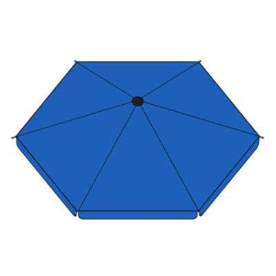 Umbrella Cover for Heavy-Duty Playpen