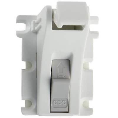 Magnet Lock and Key - Adhesive Mount