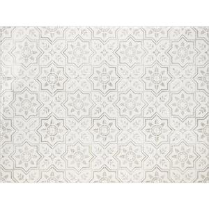 Kit Kitchen Sicile Gray 22.56 in. x 30.06 in. Vinyl Peel and Stick Tile (4.68 sq. ft./ 4-pack)