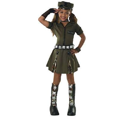 Medium Major Flirt Child Costume