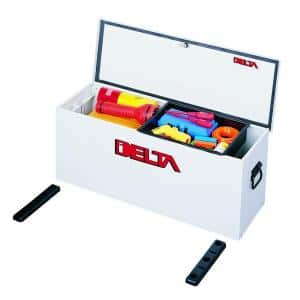 32-5/8 in. Long Steel Portable Lock-Down Hopper Utility Chest