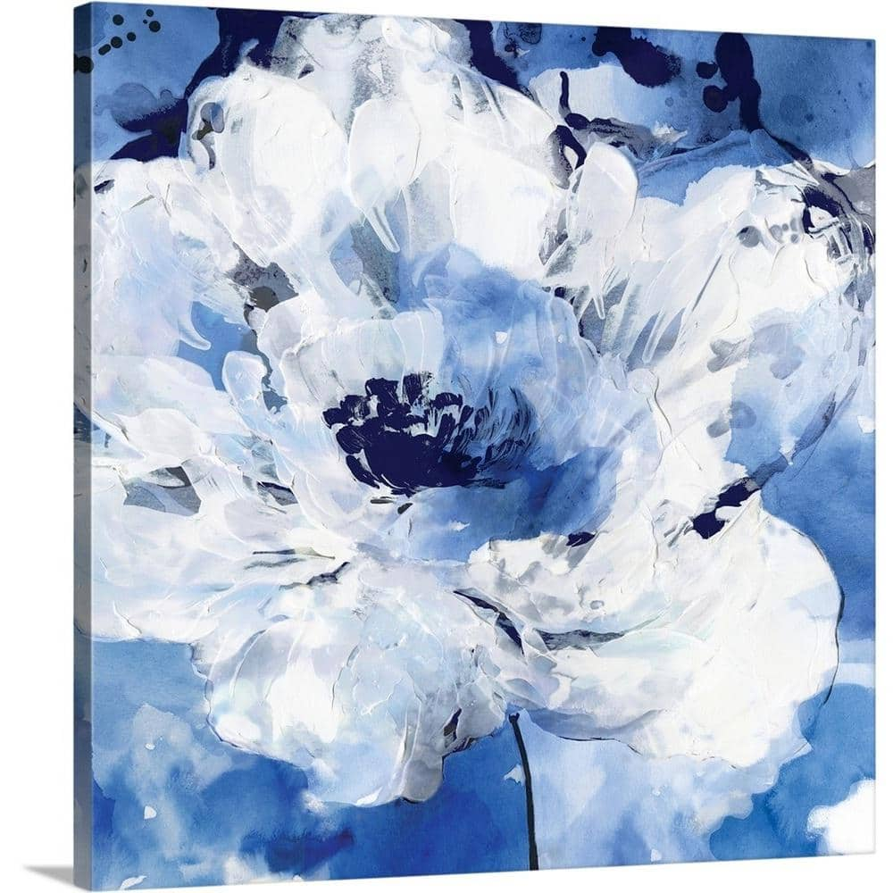 Greatbigcanvas Little Blue Ii By Eva Watts Canvas Wall Art 2545563 24 24x24 The Home Depot