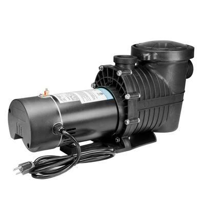 2-Speed 1 HP Inground Swimming Pool Pump