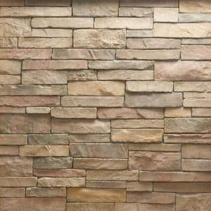 Stacked Stone Cordovan Corners 10 lin. ft. Handy Pack Manufactured Stone