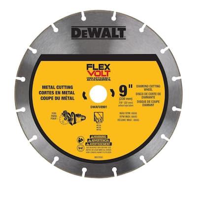 9 in. Diamond Metal Cutting Cut-Off Saw Blade