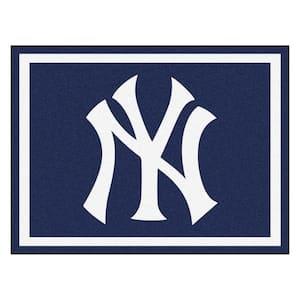 MLB New York Yankees Navy Blue 8 ft. x 10 ft. Indoor Area Rug