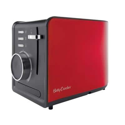 2-Slice Red Toaster
