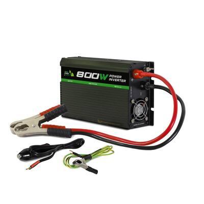 800-Watt Battery Powered Portable Power Inverter