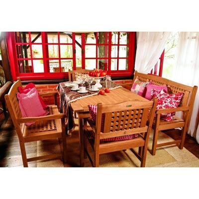 Milano Porto 5-Piece Rectangular Patio Dining Set